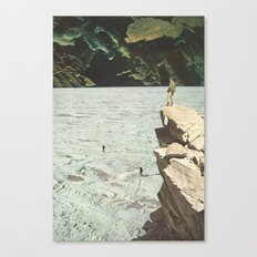 walk out to winter Canvas Print