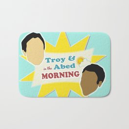 Community Troy & Abed in the Morning Bath Mat