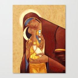 Theotokos with Christ Canvas Print