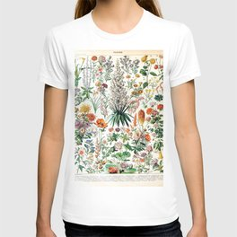Adolphe Millot - Fleurs B - French vintage poster T-shirt