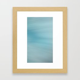 Blue Burst Framed Art Print