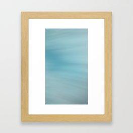 Blue Burst Framed Art Print