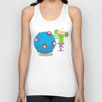 katamari Tank Tops featuring Katamari Demacy by Of Lions And Lambs