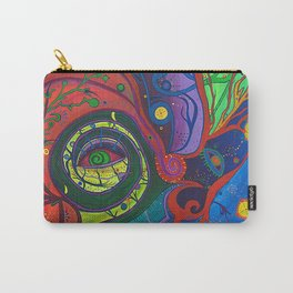 Retina Cochlea (Peephole to my Brain) Carry-All Pouch
