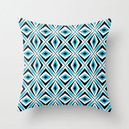 symetric patterns 70 -mandala,geometric,rosace,harmony,star,symmetry Throw Pillow