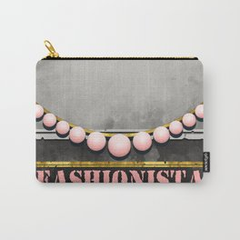 Wanted Fashionista Poster Carry-All Pouch