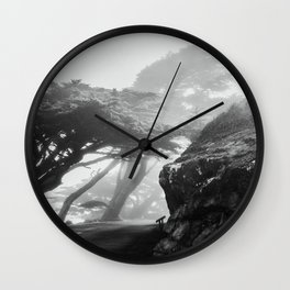 These Cool Trees at Point Reyes Wall Clock