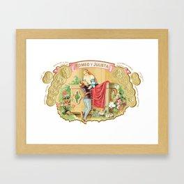 ROMEO Y GIULIETA CIGARS Framed Art Print