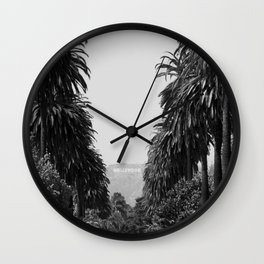 LA Noir Wall Clock