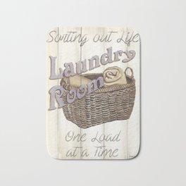Vintage Laundry Room 2 Bath Mat