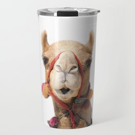 Decorated Camel Travel Mug