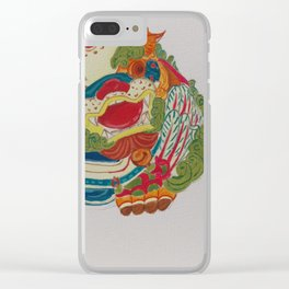 Taiwanese Lion-Dog Clear iPhone Case