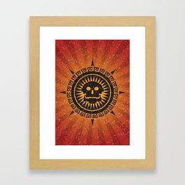The God of Death Framed Art Print