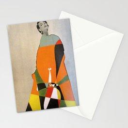 Modeling Miro in Orange Stationery Cards