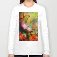chinese Long Sleeve T-shirts featuring Chinese landscape by Ganech joe