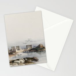 Very old Fine art illustration from David Roberts Stationery Cards
