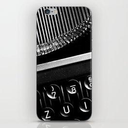 Typewriter No.3 iPhone Skin