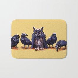 Raven Beauty Pageant Bath Mat