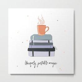 Books magic Metal Print