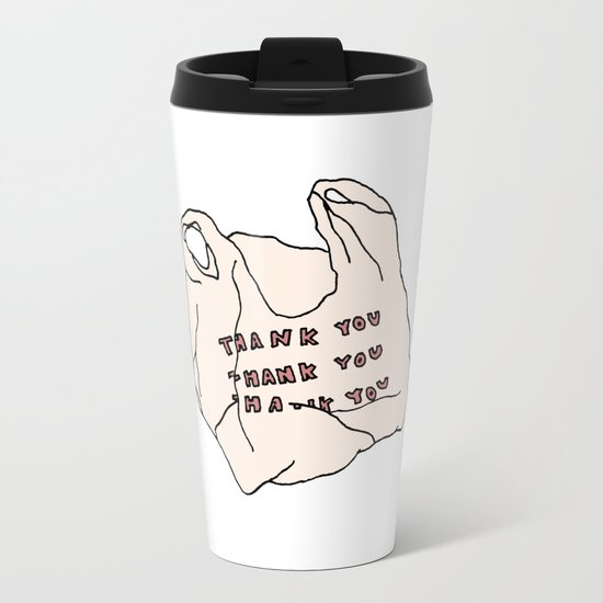 THANKS FOR NOTHING Metal Travel Mug