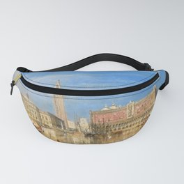 "J.M.W. Turner ""Bridge of Sighs, Ducal Palace and Custom-House, Venice"" Fanny Pack"