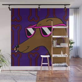 Cool Dog Wall Mural