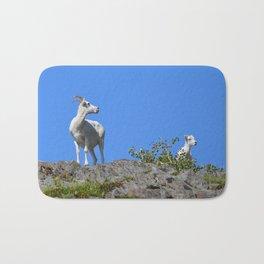 Ewe and Lamb Bath Mat