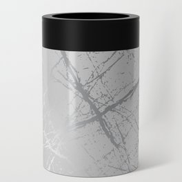 Silver Splatter 089 Can Cooler