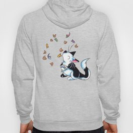 Caturday Morning Cereal Hoody
