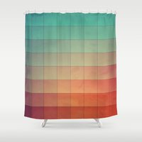 spires Shower Curtains featuring cyvyryng by Spires