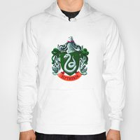 slytherin Hoodies featuring SLYTHERIN  by Smart Friend