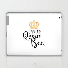 Queen Bee Funny Quote Laptop & iPad Skin