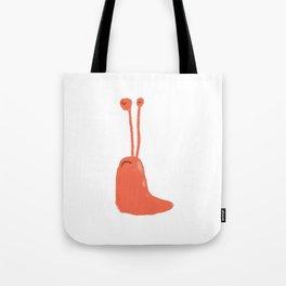 Red Slug Tote Bag