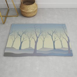 Bare Trees Rug