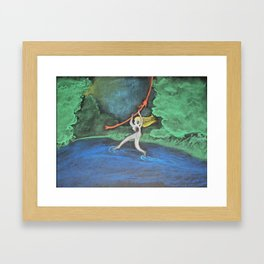 Walking on Water Framed Art Print