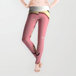 Donut - Pink Sprinkles Leggings