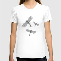 dragonfly T-shirts featuring Dragonfly by Daydreamer