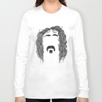 zappa Long Sleeve T-shirts featuring Frank Zappa by Sára Szabó