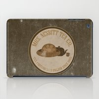 buzz lightyear iPad Cases featuring mrs. nesbitt tea co. funny toy story disney buzz lightyear brown grunge. by studiomarshallarts