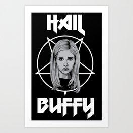 Buffy iPhone case Art Print