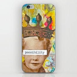 The Possibility that Lay Before You iPhone Skin