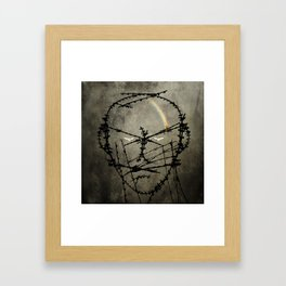 Prisoner of conscience. Framed Art Print