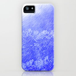 """Lily Of The Nile"" with poem: In The Rain iPhone Case"