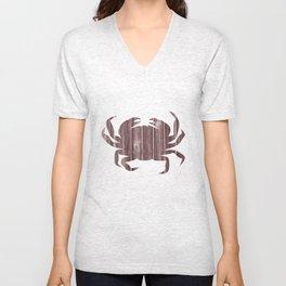 Crab Slab Unisex V-Neck