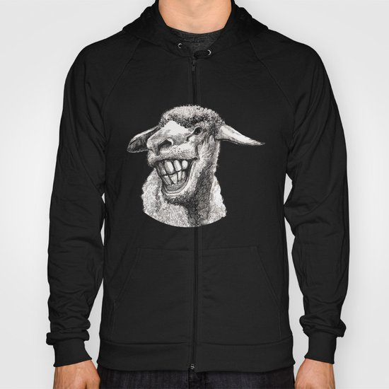 The  funny sheep Hoody