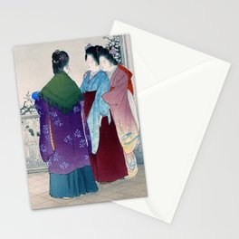 Mizuno Toshikata - TSUKINUNAGORI - Top Quality Image Edition Stationery Cards