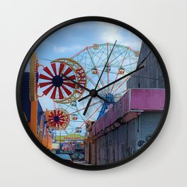 Wonder Wheel Wall Clock