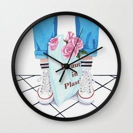 _Beauty in Plastic Bag Wall Clock
