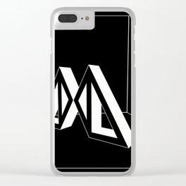 Amalgamamma cover UNO Clear iPhone Case