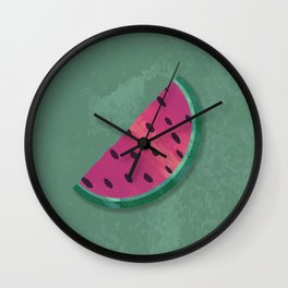 Break Me Off A Slice Of That... Watermelon! Wall Clock